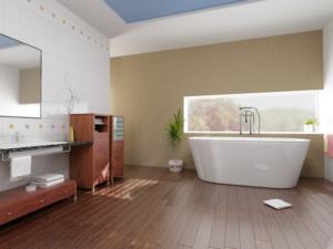 bamboo bathroom floor options
